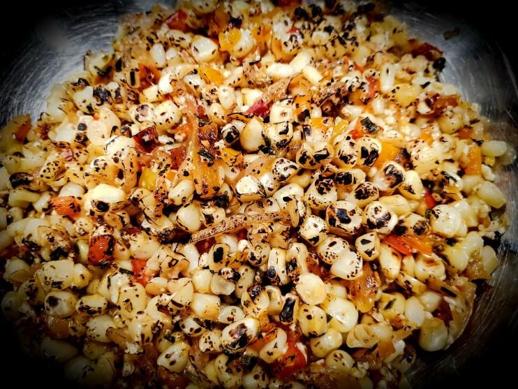 Summer Roasted Corn Salad
