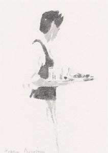 HOSSEIN BOROJENI - Le garçon de cafe