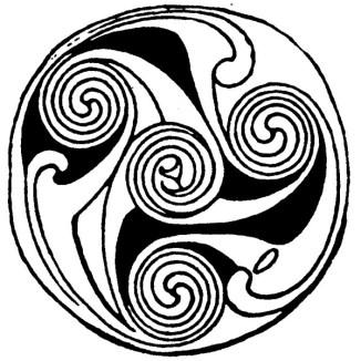 Символ спирали - развития