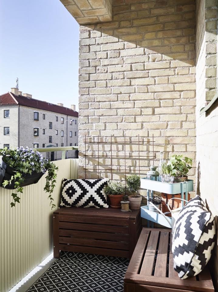 Inspiracje balkon  Agnieszka Buchta  architektura wntrz