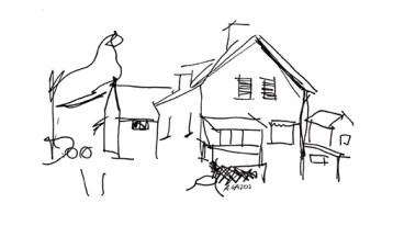 cottage-sketch