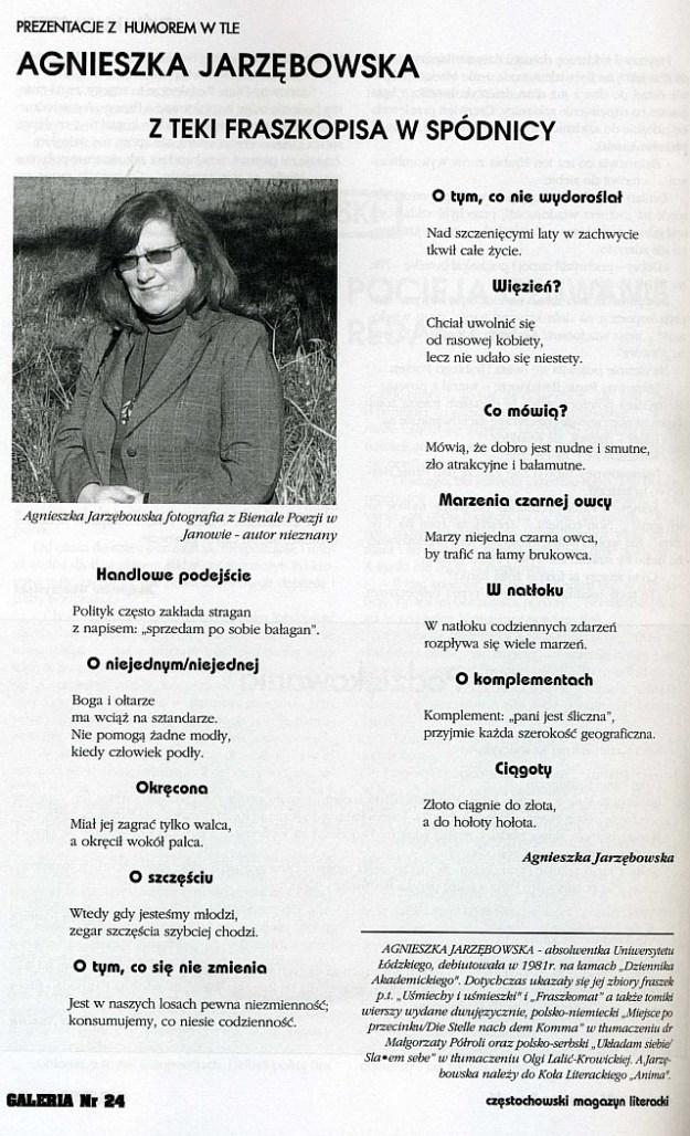Galeria Z teki fraszkopisa