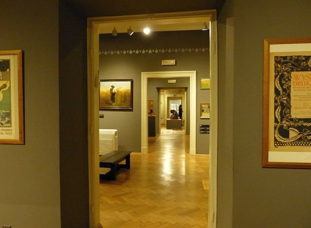 w Muzeum Wyspiańskiego