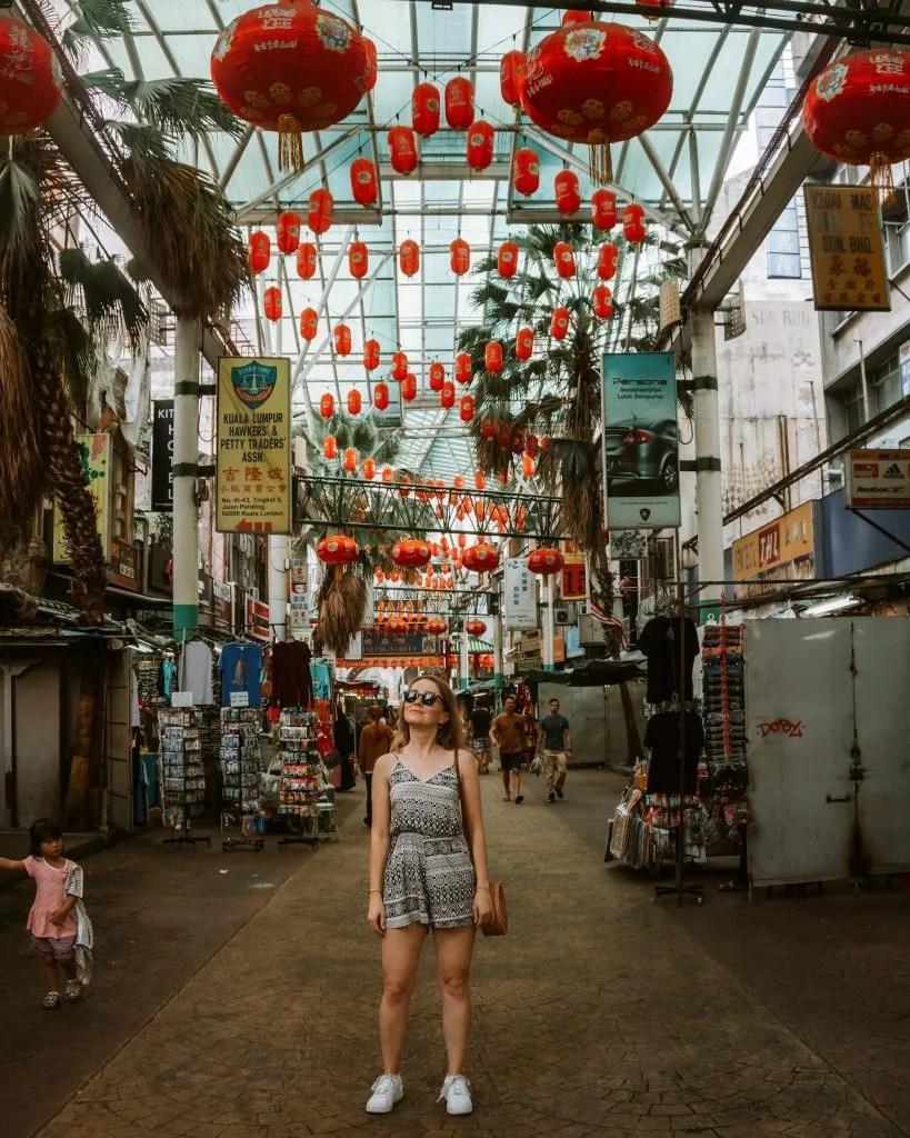 Picture of Petaling night market in Kuala Lumpur, Malaysia