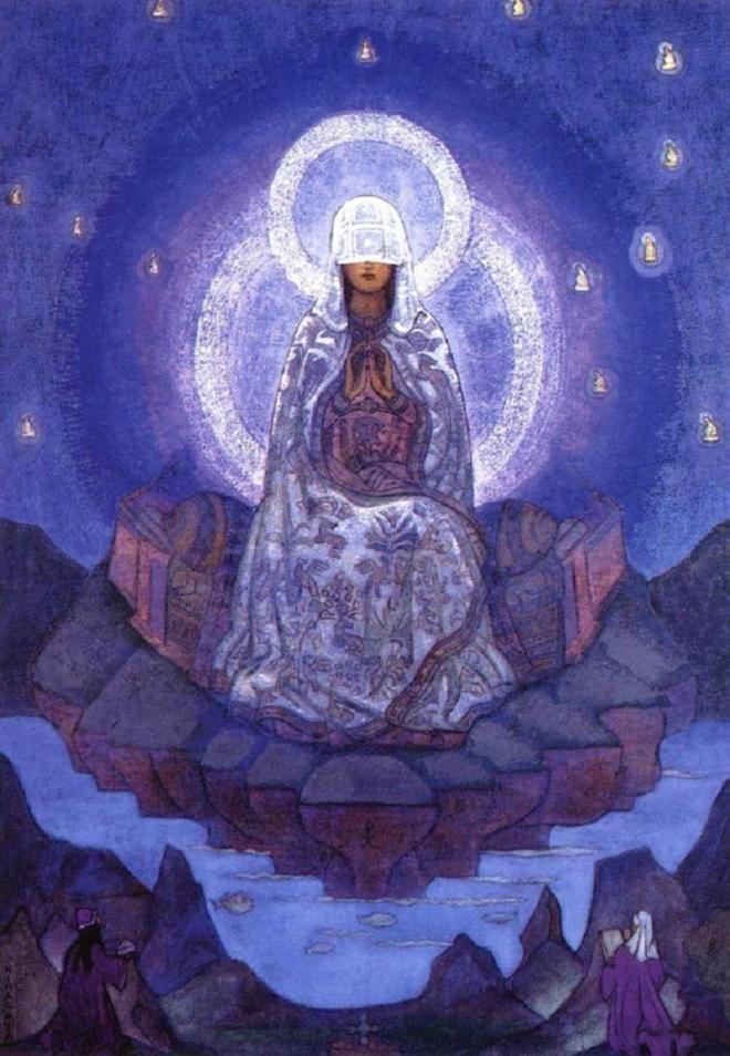Под знаменем Матери Мира