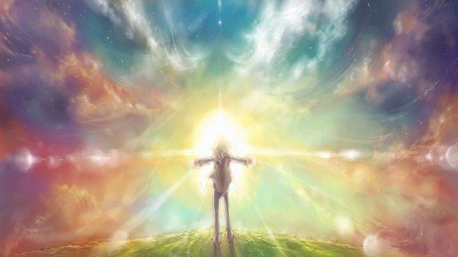 Пусть Свет высоких знаний горит в ваших сердцах. Пусть этот Свет рассеивает тьму вокруг вас.