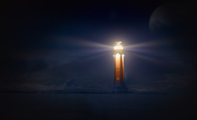 lighthouse_glow_night_sea