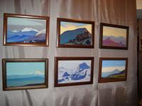 Выставка картин Н.К.Рериха в Анжеро-Судженске