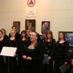1 открытие передвижной выставки картин Николая Рериха  в Миассе.