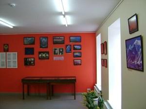 Выставка, посвященная 130-летию Елены Ивановны Рерих и 135-летию Николая Константиновича Рериха, в Научной библиотеке города Елгава.
