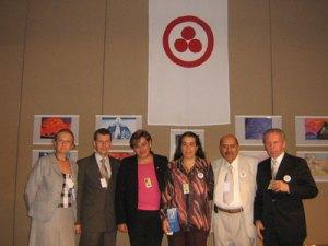 2 Встреча делегации МЦР с представителями Комитета Знамени Мира в Мексике