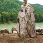 4 Памятник Н.К. Рериху к 135–летию со дня рождения