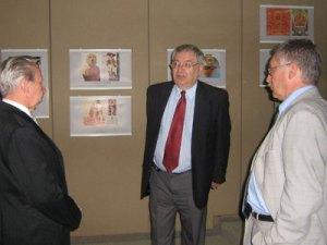 5  Посещение выставки МЦР послом РФ в Мексике В.И.Морозовым