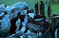 «Стража Гималаев», 1926, Николай Рерих