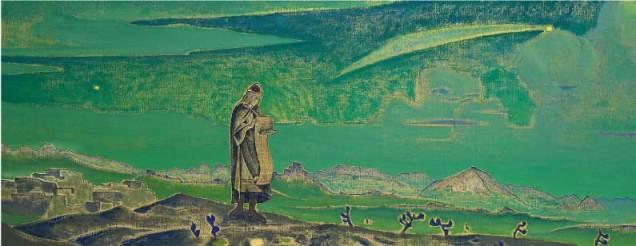Nicholas Roerich. Legend