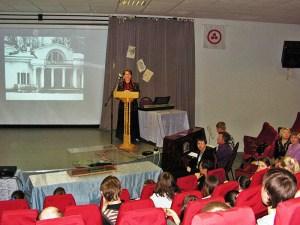 Выступает И.М.Себелева, педагог ЦАТ ''Перспектива''