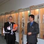 Открытие выставки. Н.Г.Скворцов и Э.А.Томша