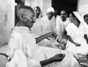 Мохандас Карамчанд Ганди, известный как Махатма Ганди
