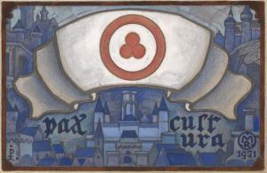 Николай Рерих. Знамя Мира. 1931