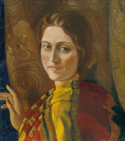 С.Н.Рерих. Портрет Ираиды Богдановой 1937