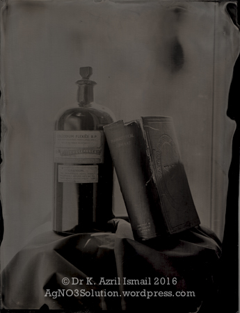 Table Studies - Collodion Bottle and Pharmaceutical Formulary