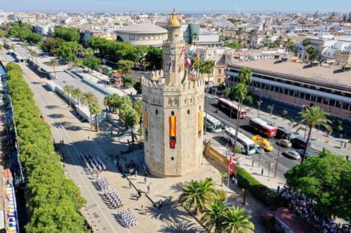 Tramo T0. Salida de Sevilla. Agosto de 2019