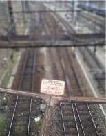 Rail danger de mort Gare Dijon
