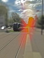Perspective Tram éclair