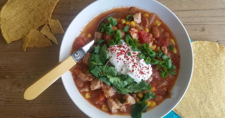 Chicken and Pinto Bean Soup Recipe