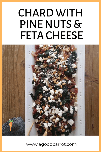 Chard Recipe with Pine Nuts and Feta Cheese, Weekly Meal Plans, Vegetable Recipes, Clean Eating Recipes, Healthy Dinner Recipes, Recipes for Dinner