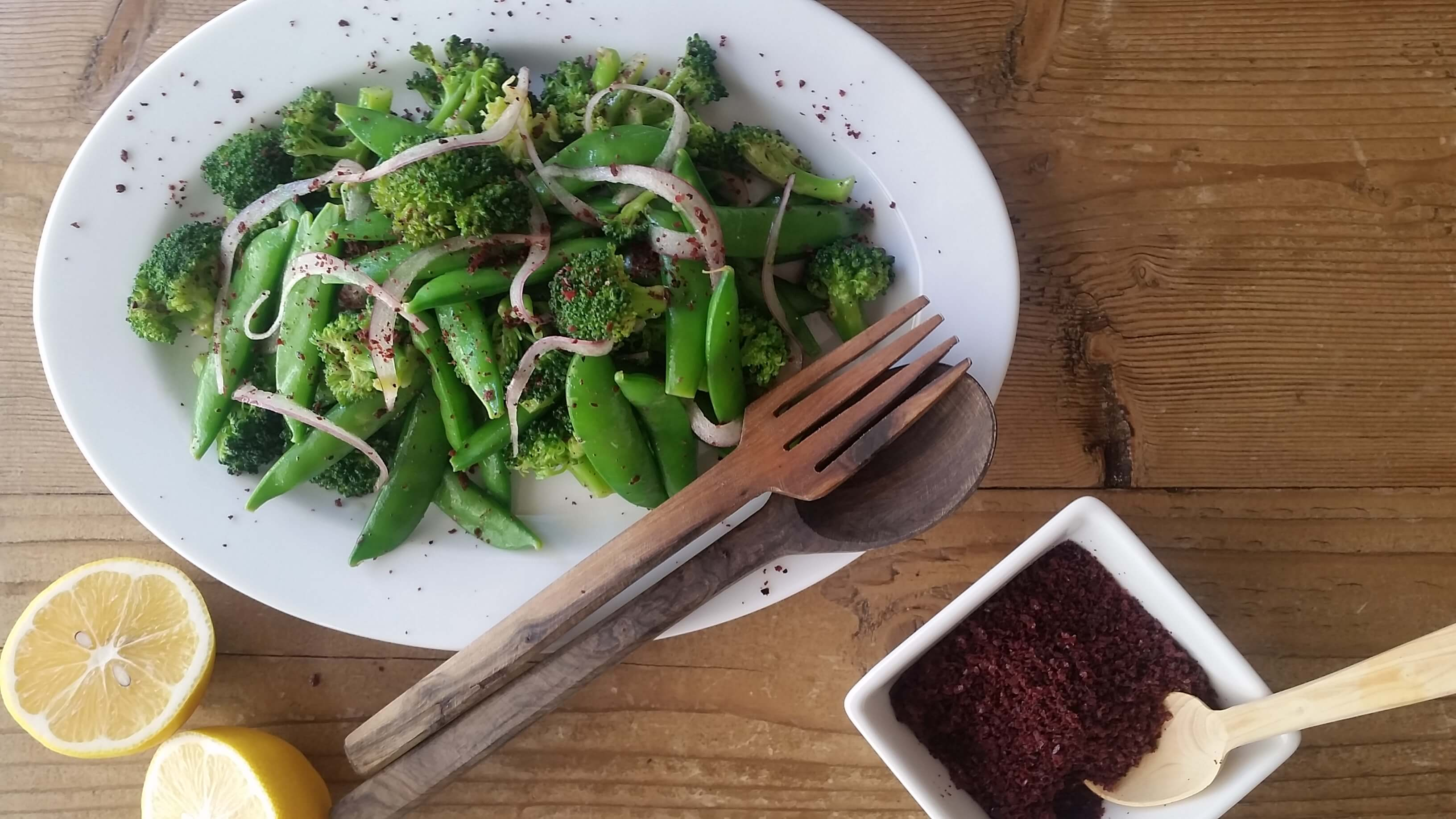 Broccoli and Sugar Snap Pea Salad Recipe