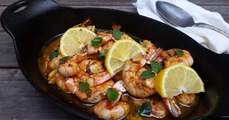 Garlic and Lemon Zest Shrimp Recipe