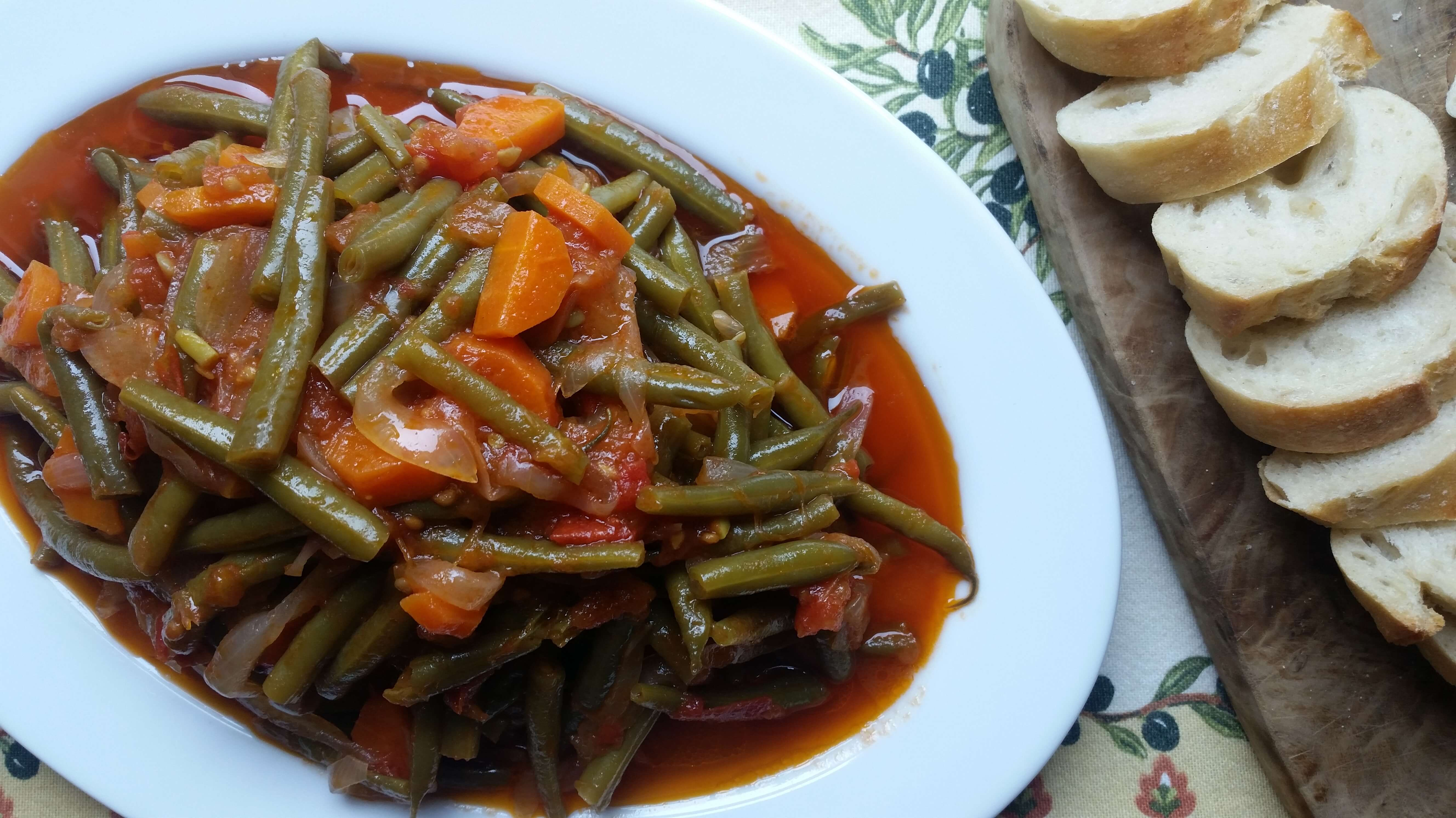 Turkish-Style Braised Green Beans Recipe