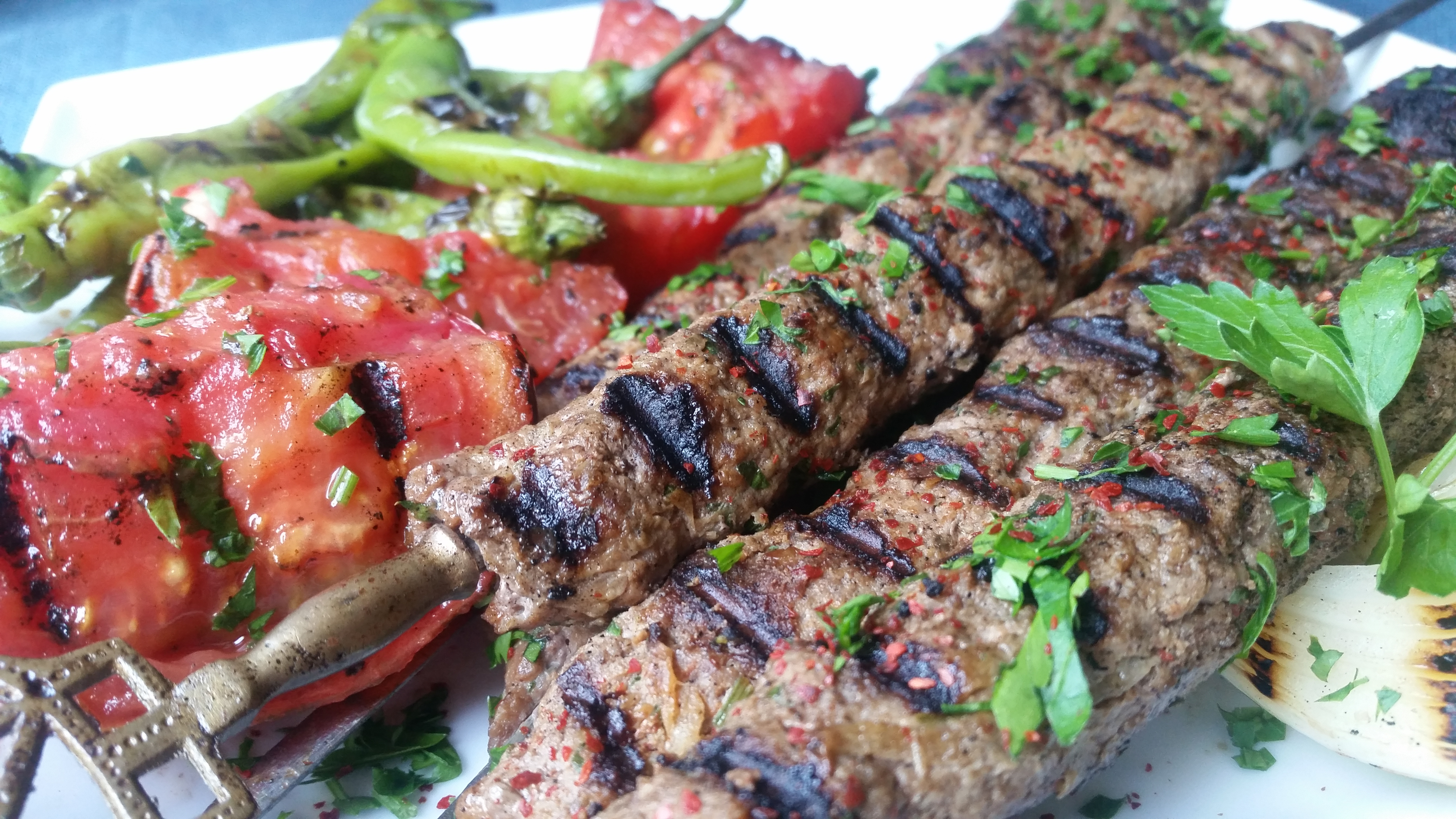 Turkish-Style Beef Köfte Kebab Recipe