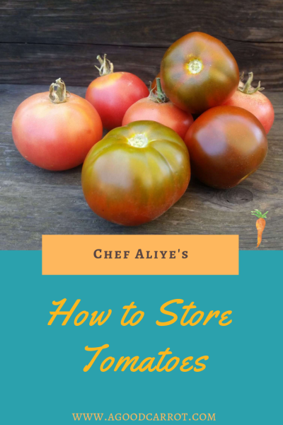 how to store tomatoes