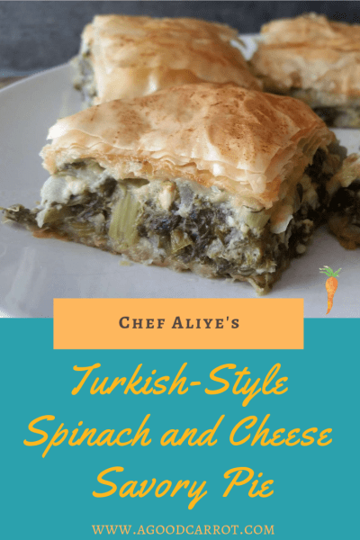 borek, savory pie recipe spinach and cheese, vegetarian thanksgiving recipes, turkish recipes, turkish food, turkish borek