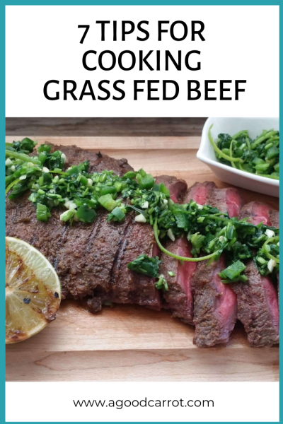 cooking grass fed beef