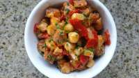 chickpea and chorizo tapas recipe, Weekly Meal Plans, Vegetable Recipes, Clean Eating Recipes, Healthy Dinner Recipes, Recipes for Dinner