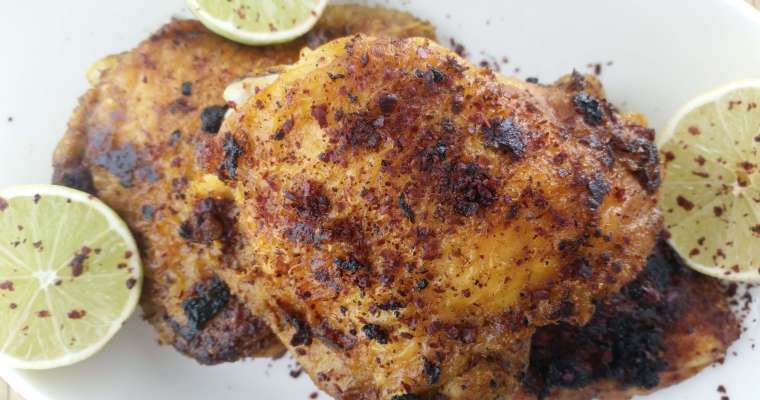 Tangy Turmeric Chicken with Sumac & Lime