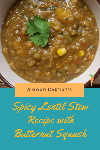 lentil soup recipe, lentil recipe, Spicy Lentil Stew Recipe