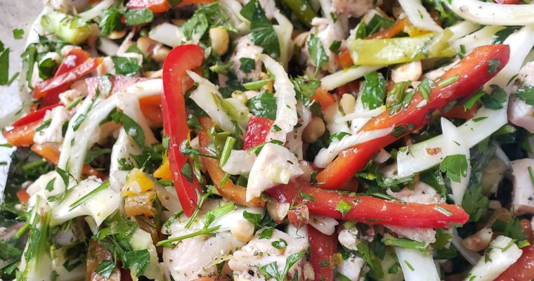 Easy Mediterranean-Style Chicken Salad Recipe