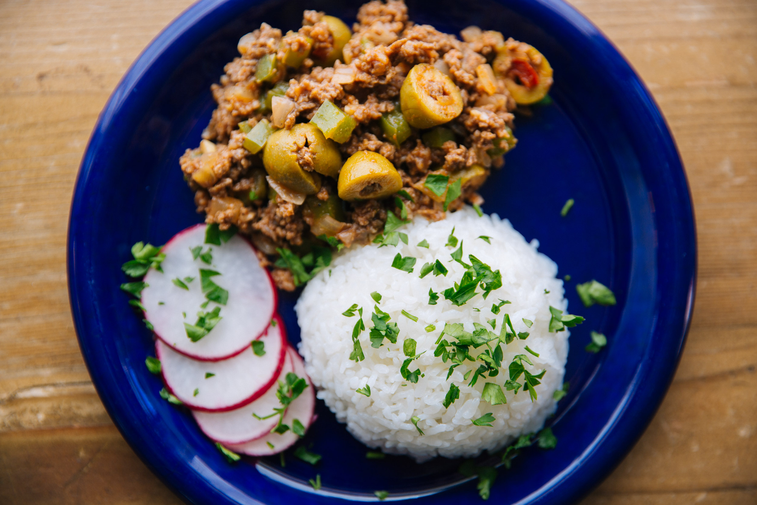 cuban picadillo, healthy dinner ideas