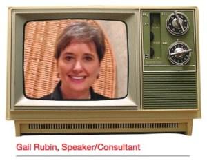 Gail Rubin, Speaker/Consultant