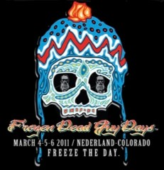Frozen Dead Guy Days 2011 logo