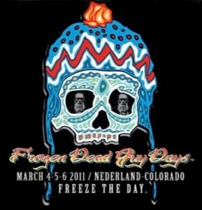 Frozen Dead Guy Days 2011 logo