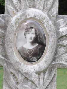 Elmwood Headstone - woman