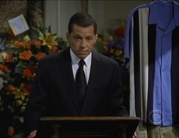 Two and a Half Men Charlie Harper Funeral