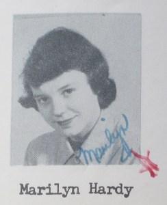 Marilyn Hardy High School Photo