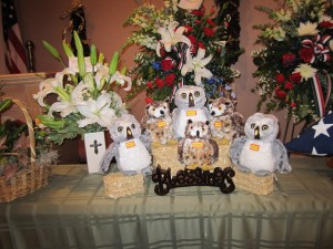 Owls at Frank Eaton's Visitation