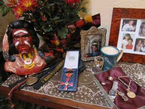 Joe's Medal, Ceramics, and Jewelry
